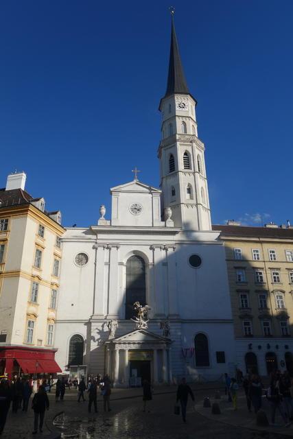 维也纳米榭尔教堂 - 景点地图